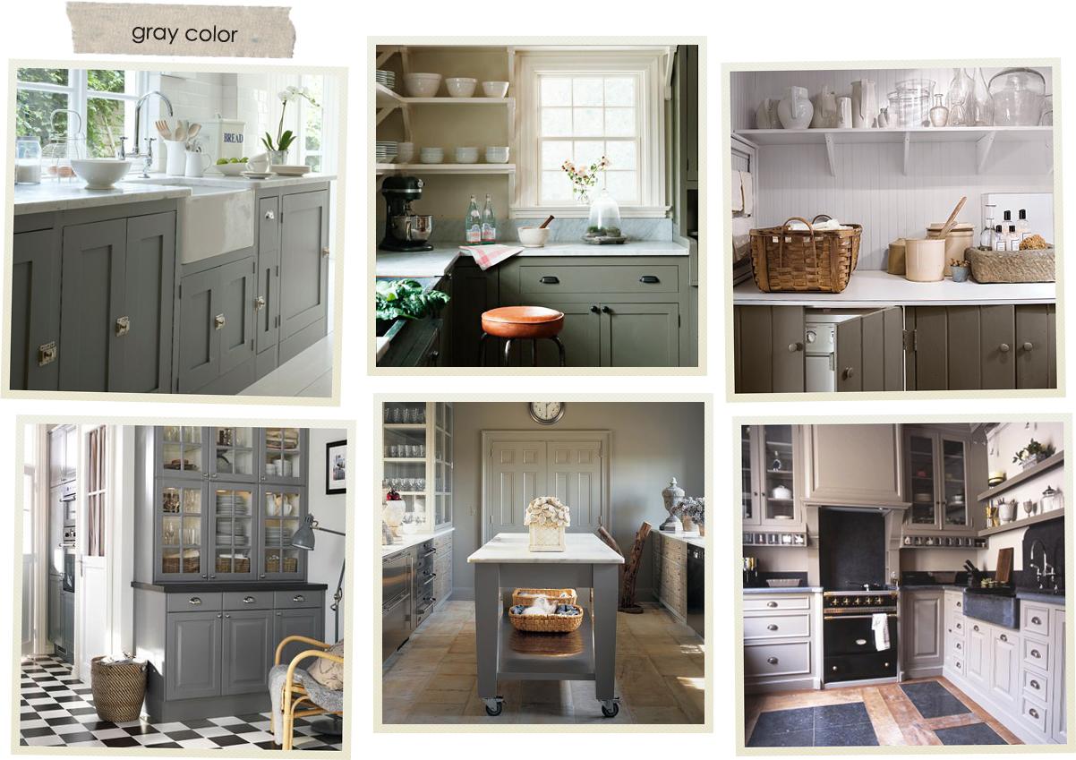 Progettando la mia cucina shabby chic interiors - Colorare ante cucina ...