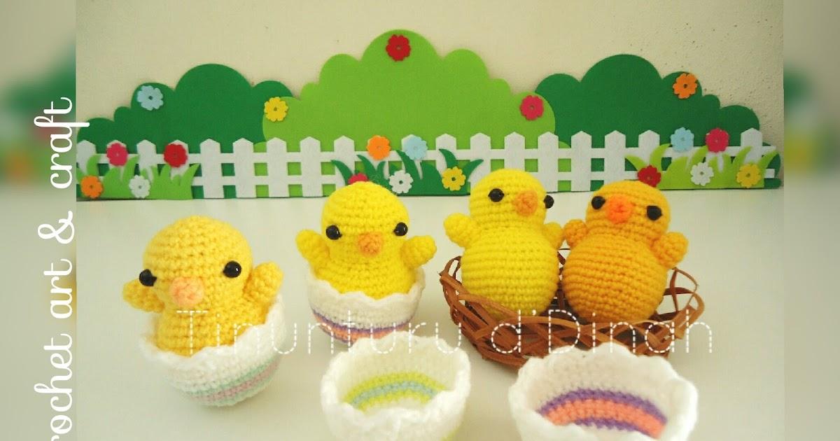 Amigurumi Hatching Easter Chicks : Dinah Crochet: Amigurumi Easter chick