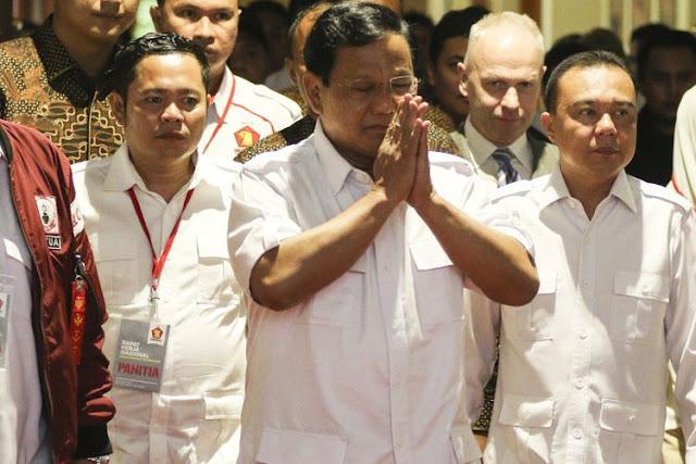 Prabowo Tak Akan Deklarasi sebagai Capres di Rakornas Partai Gerindra