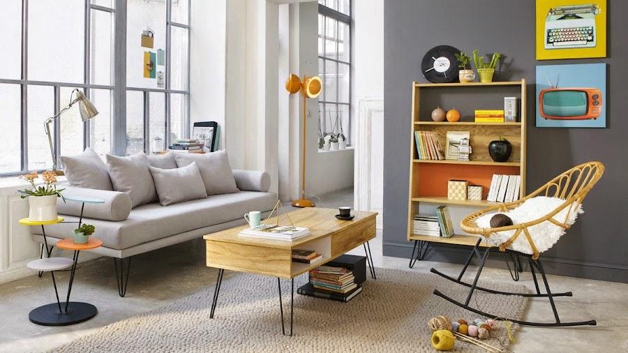 Decotips] Consigue un look vintage en el salón en 5 pasos   Decoración