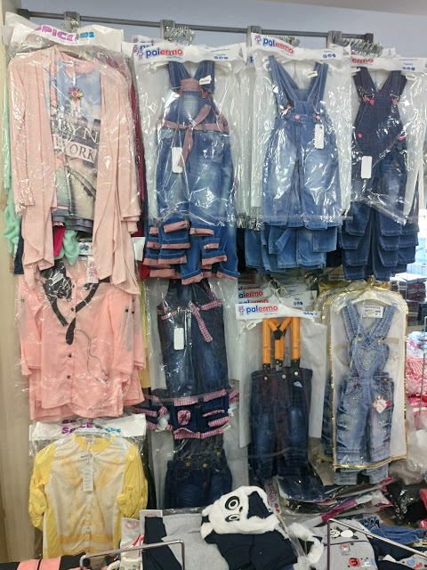 Çocuk giyim sektörü ürünleri