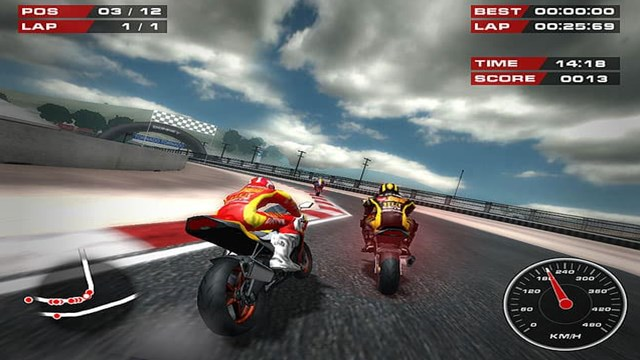 Download SuperBike Game PC Gameplay