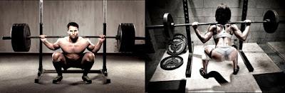 La sentadilla libre con barra aumenta el metabolismo para quemar grasa