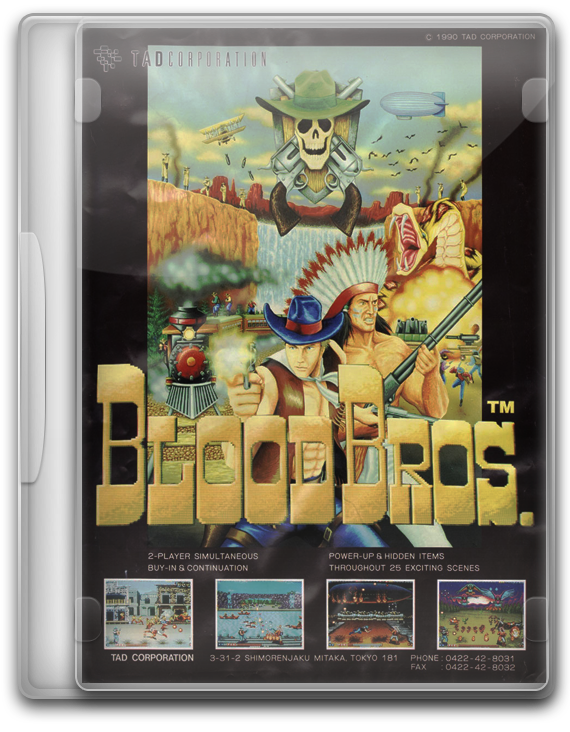 Blood Bros Arcade