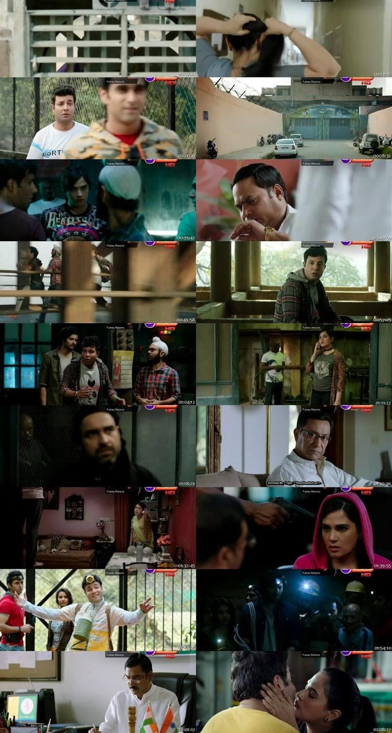Fukrey Returns 2017 Hindi Movie 720p 1GB DTHRip x264