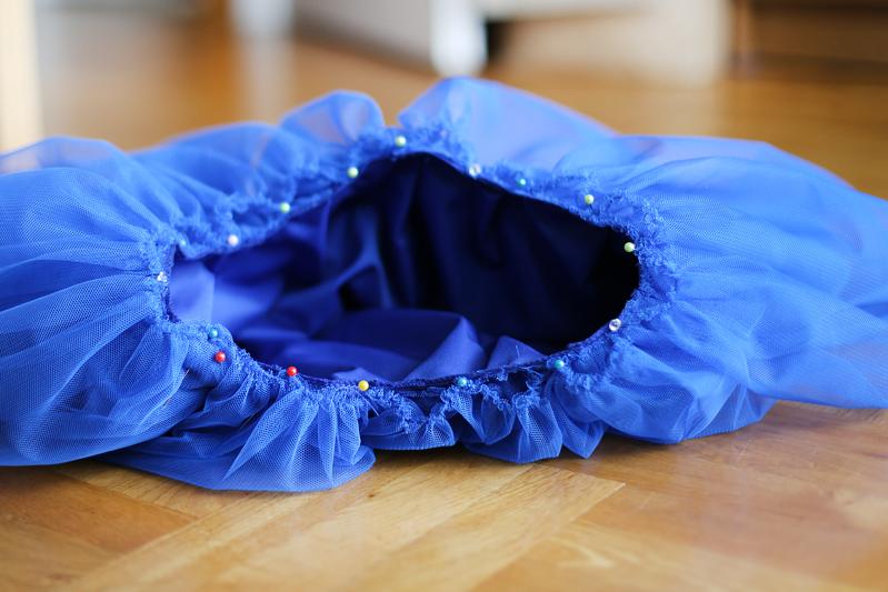 d23be42d Doganiam Motyle: Jak uszyć tiulową spódnicę. Tiulowa spódnica z 5 ...
