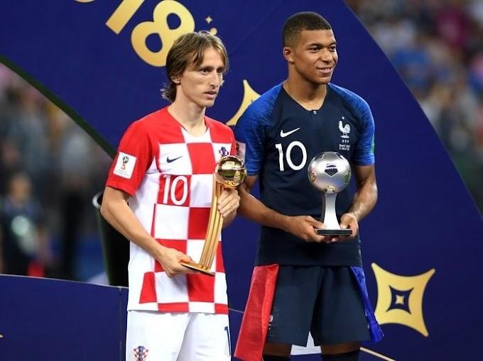 Modric é eleito o craque da Copa do Mundo da Rússia 2018