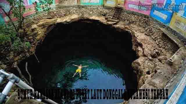 Sumur Raksasa Alami di Pusat Laut Donggala Sulawesi Tengah