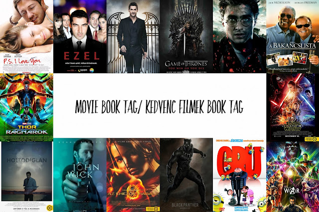 Movie Book Tag/ Kedvenc filmek Book Tag