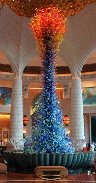 Atlantis The Palm, Glasskulptur (C) JUREBU