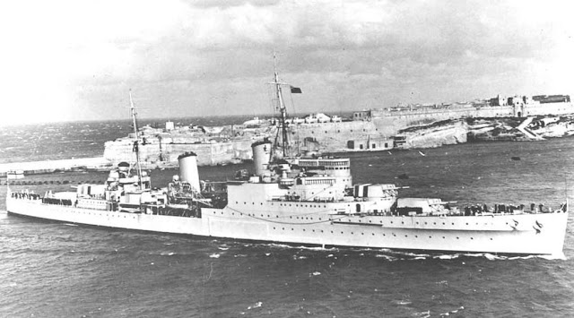 30 September 1940 worldwartwo.filminspector.com HMS Gloucester Malta