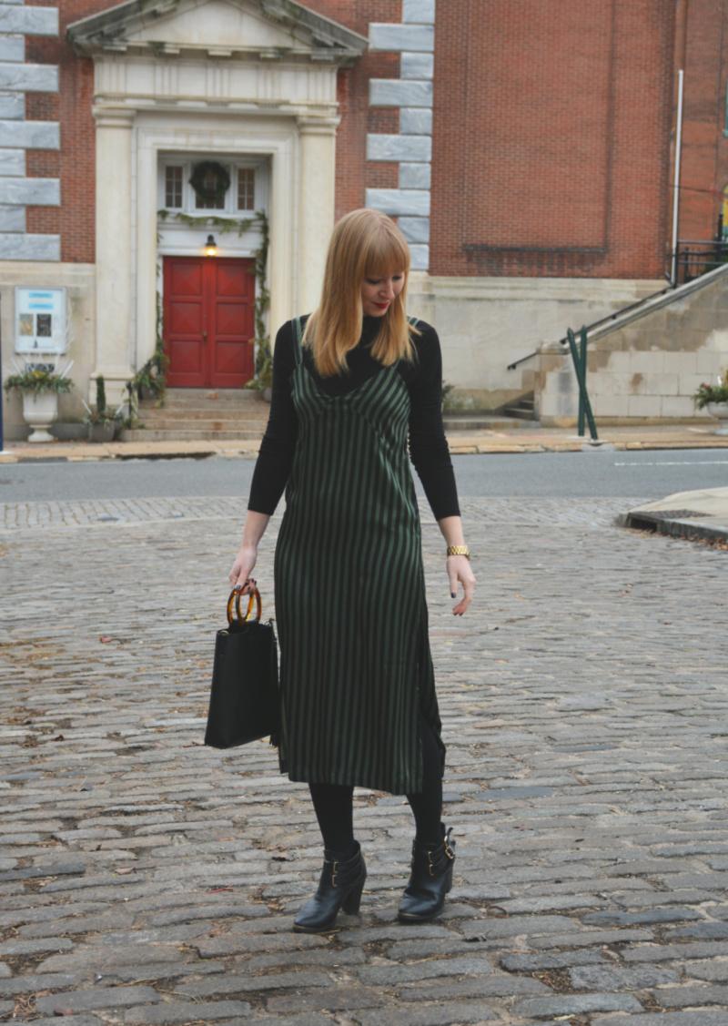 Styling a Slip Dress | Organized Mess