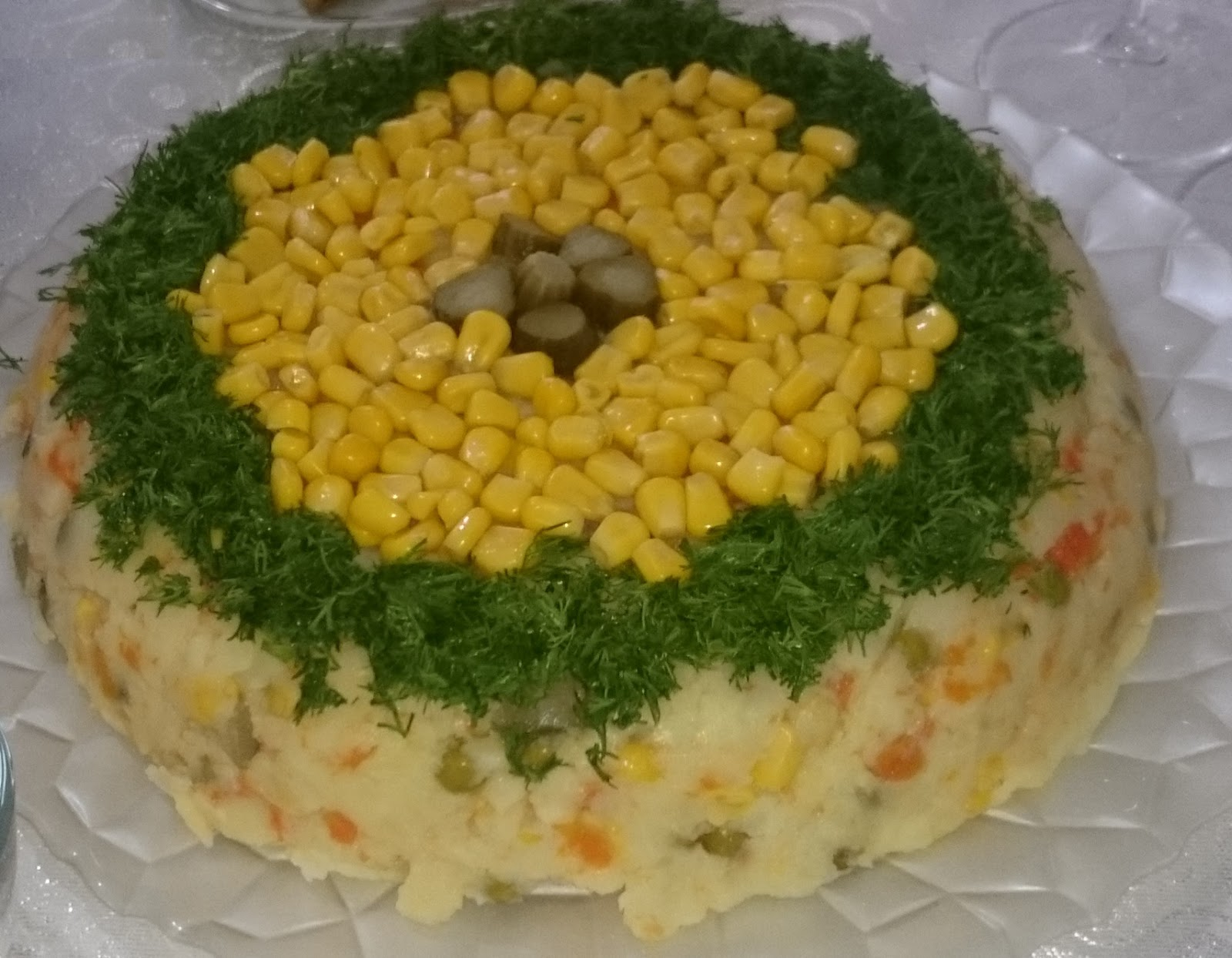 Pasta Görünümlü Patates Salatası Tarifi