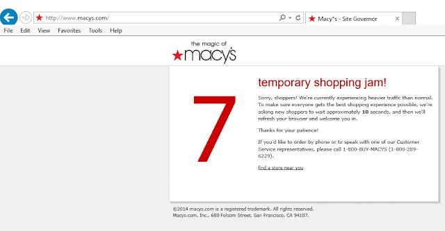 Temporary Shopping Jam