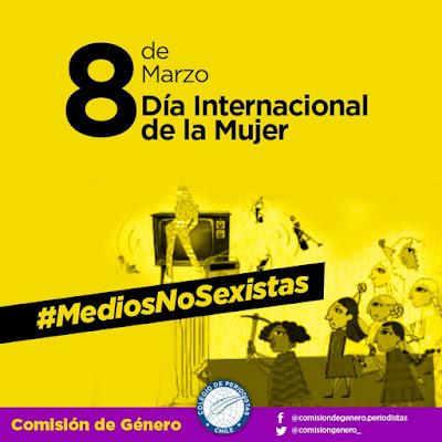 """Lanzan campaña """"Medios no sexistas"""" en el marco del Día Internacional de la Mujer"""