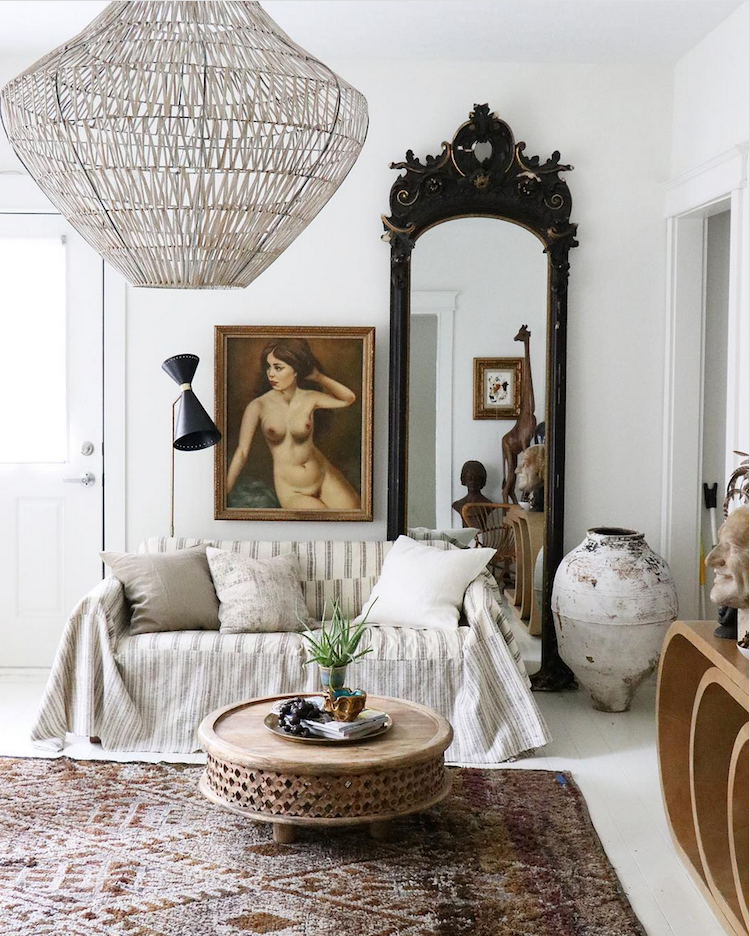 Jennifer Harrison's bohemian style home