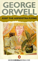 Keep the Aspidistra Flying by George Orwell book cover