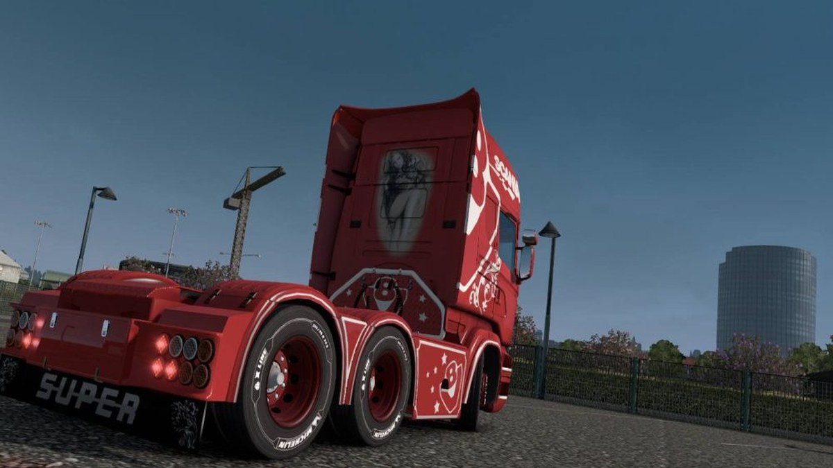 Red Queen Skin Scania RJL