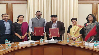 GOI, Gov. of Maharashtra and MRVC signs MoU with AIIB