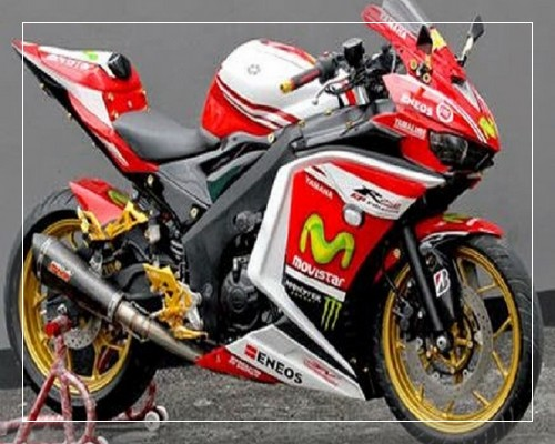 Top modifikasi yamaha r15 warna merah