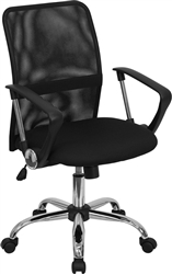 Black Mesh Computer Chair