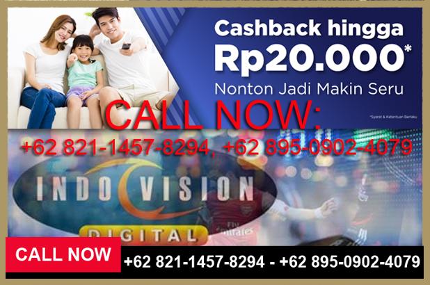 Pemasangan TV Kabel Indovision Jabodetabek - 082114578294