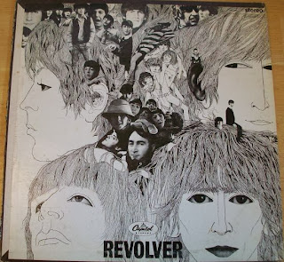 The Beatles Revolver Record Cover