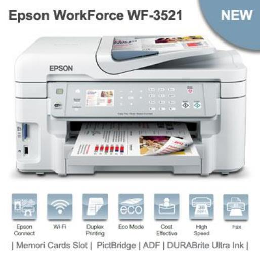Harga Epson WorkForce WF-3521 Mei 2017