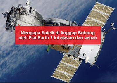 Satelit yang di anggap Bohong