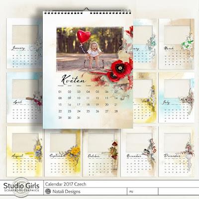 http://shop.scrapbookgraphics.com/2017-calendar-Czech.html