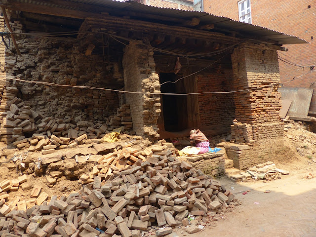 Bhaktapur one year after earthquake