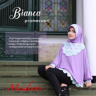 Jilbab Tangan Prameswari Bianca