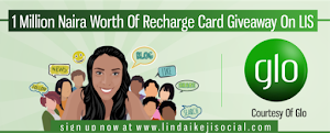 Globacom supports LIS by giving away N1million worth of recharge cards to LIS users