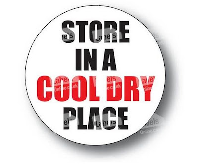Cool Dry Place