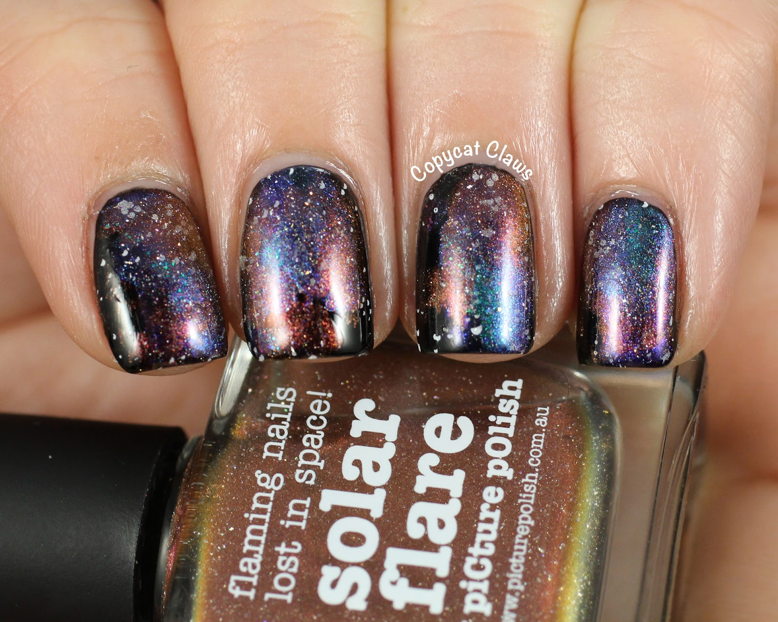 Copycat Claws: Easy Picture Polish Galaxy Nails