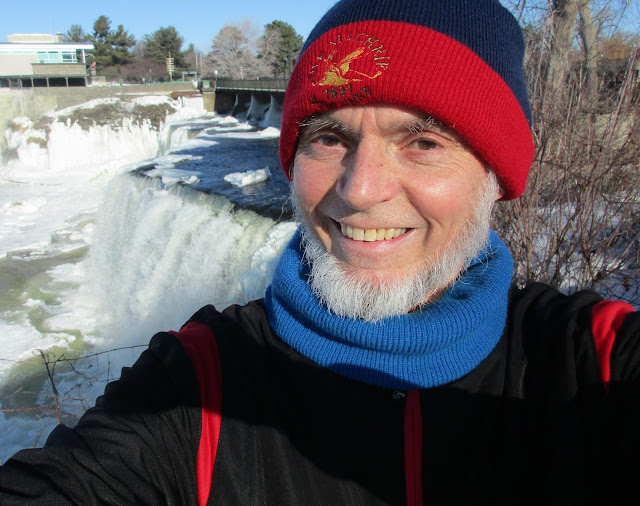 A great view of the Rideau Falls, David's Muse
