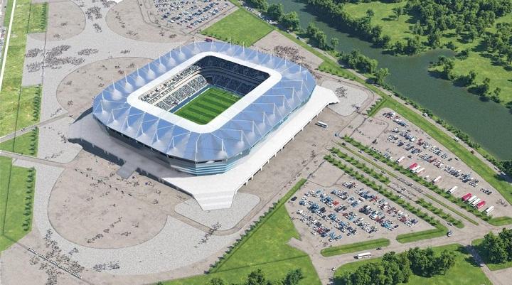 Kaliningrad Stadium, Stadion Piala Dunia 2018