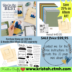 You're The Best - mini album workshop kit