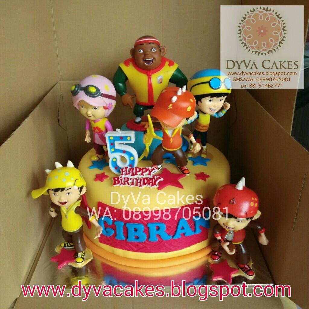 DyVa Cakes Boboiboy Birthday Cake
