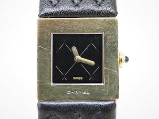 シャネル マトラッセクオーツ腕時計 H0111をお買い取り致しました