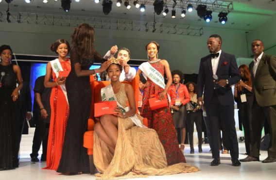 Miss Anambra, Chioma Stephanie Obiadi crowned MIss Nigeria 2016
