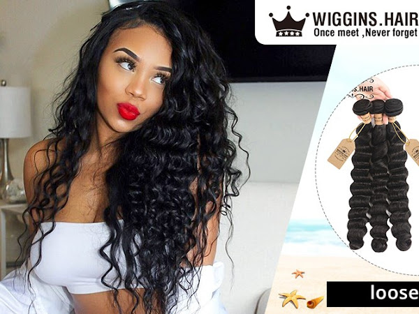 Try different hairstyles with wigs or hair extensions with WigginsHair - ad