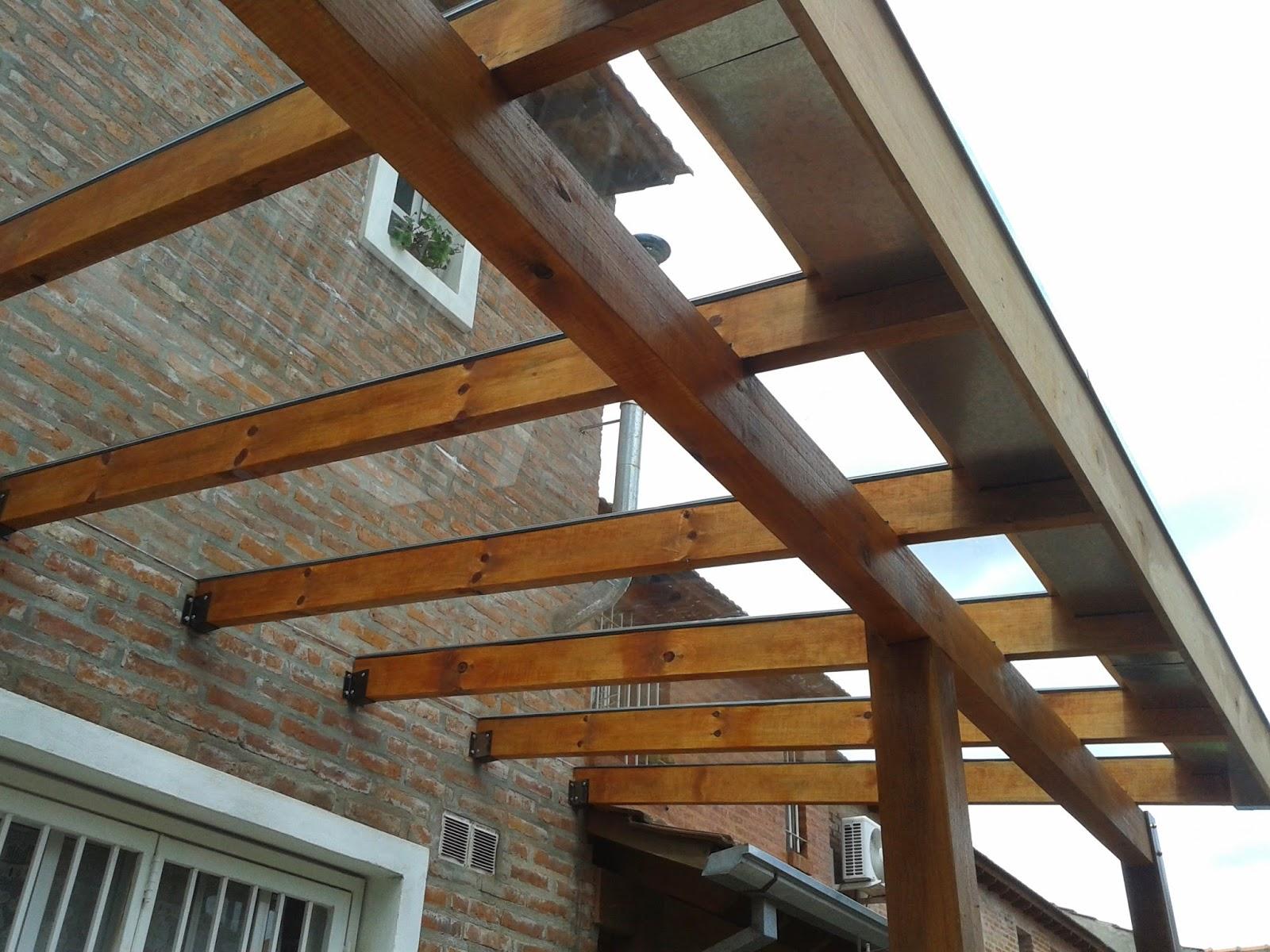 Zinka techos pergolas de madera y metalicas for Terminaciones de techos interiores