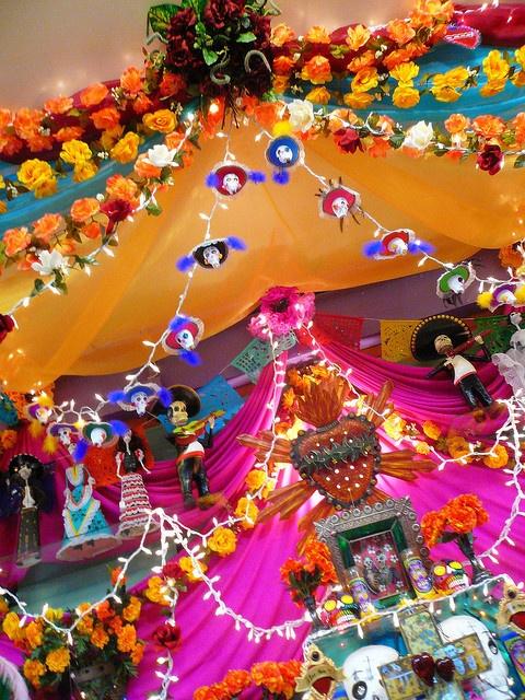 decoración halloween casa6