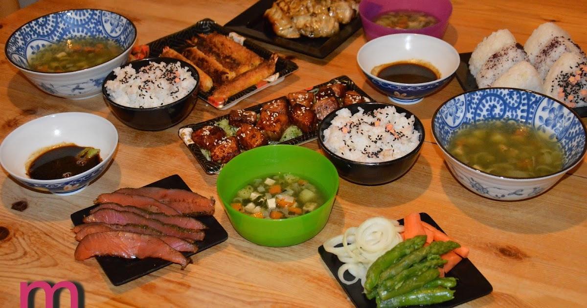 ma passion bento samedi soir c 39 tait repas japonais en famille. Black Bedroom Furniture Sets. Home Design Ideas