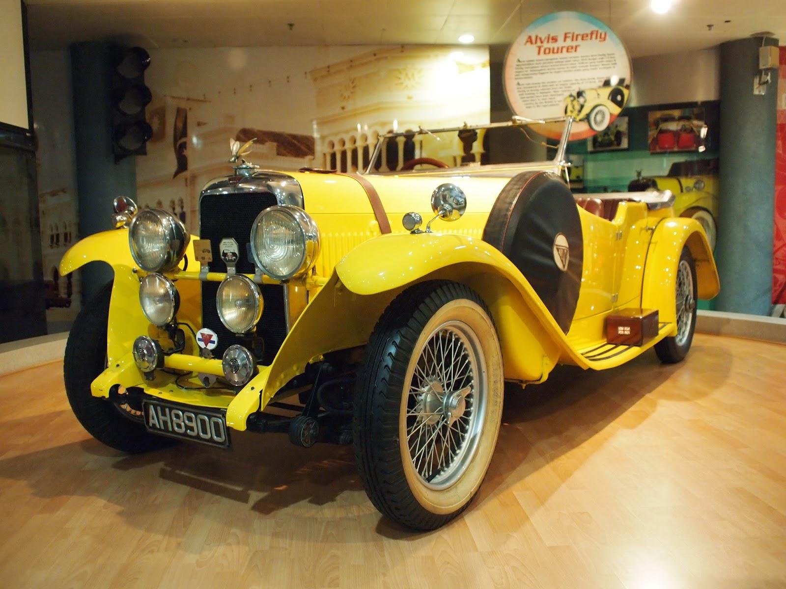 Muzium Automobil Nasional - Alvis Firefly Tourer
