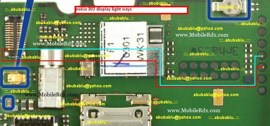 light jumper nokia 303 lcd light jumper nokia 303 lcd light solution