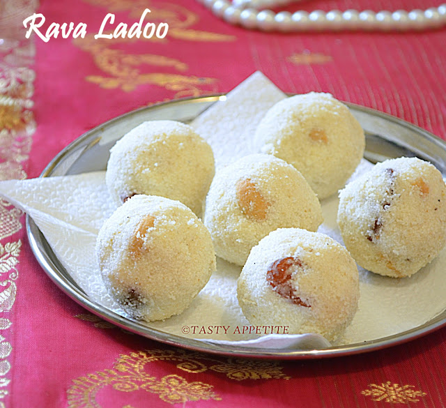 how to make rava laddu in kannada