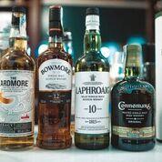 Cata de whisky escocés