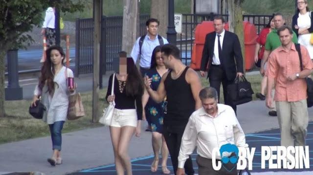 Mujer caza fortunas se hace viral al ser exhibida en video